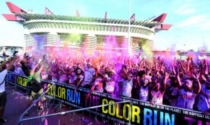Gran finale per The Colour Run 2014 a Milano