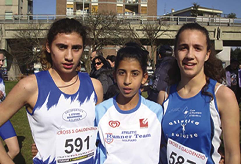 Assia El Maazi del Runner Team 99