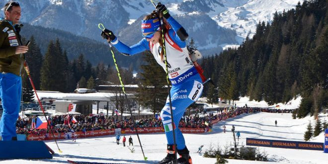Biathlon: Wierer vince in Germania