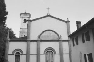 La chiesa di San Martino ad Alice Superiore