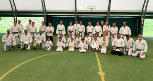 Move Crescentino al 1° raduno Karate friends