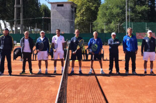 Tennis Club Tescaro e As Canottieri Aniene Roma Over 55