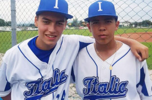 Daniele Adamo e Williams Wong del Baseball Club Settimo
